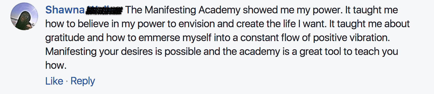 The Manifesting Academy